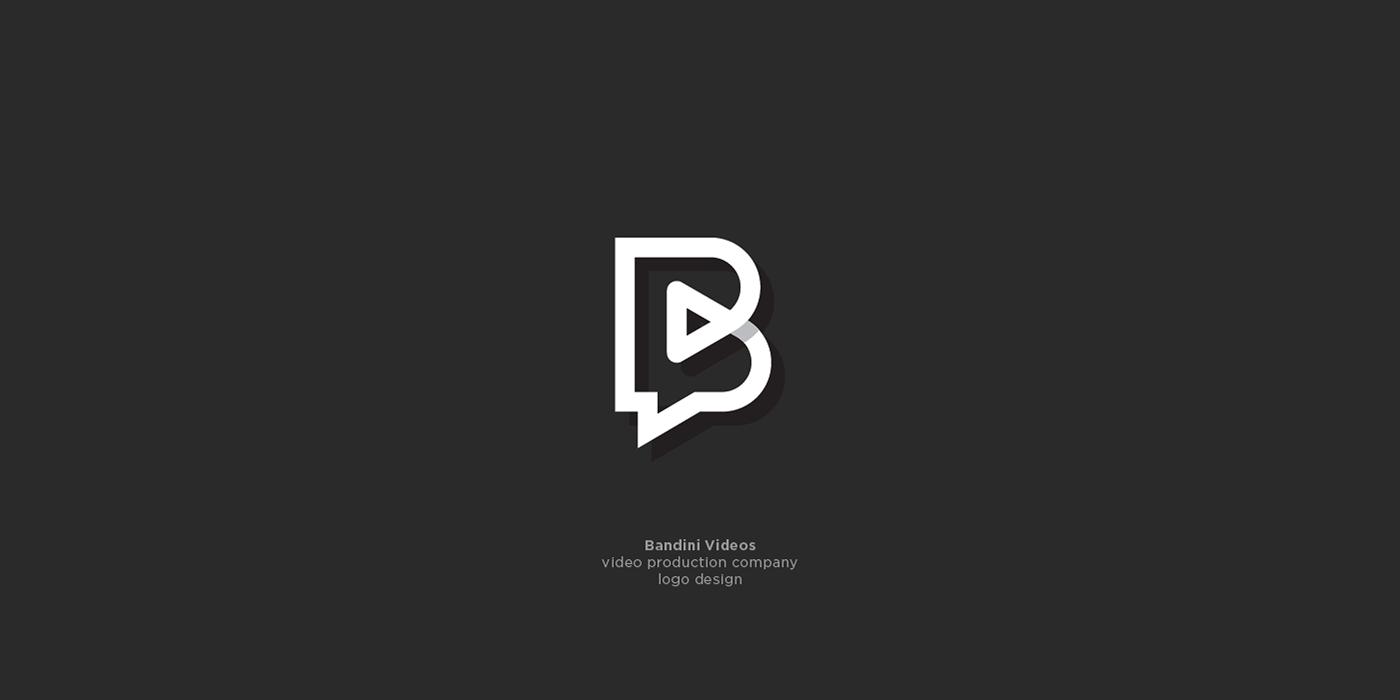 Bandini Videos logo design on Behance