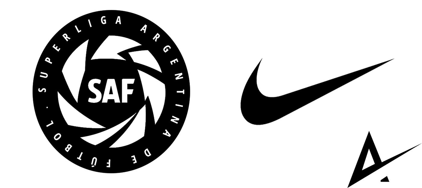 exposición Mancha pescado  SuperLiga Argentina de Futbol X Nike on Behance