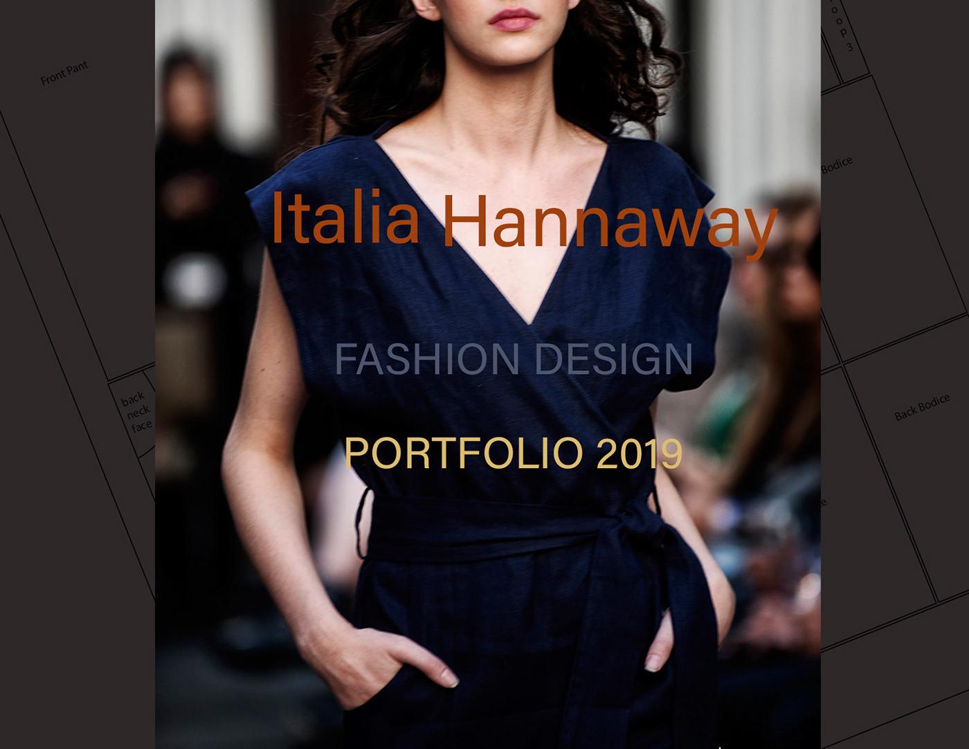 Zero Waste Fashion Design Portfolio 2019 On Behance