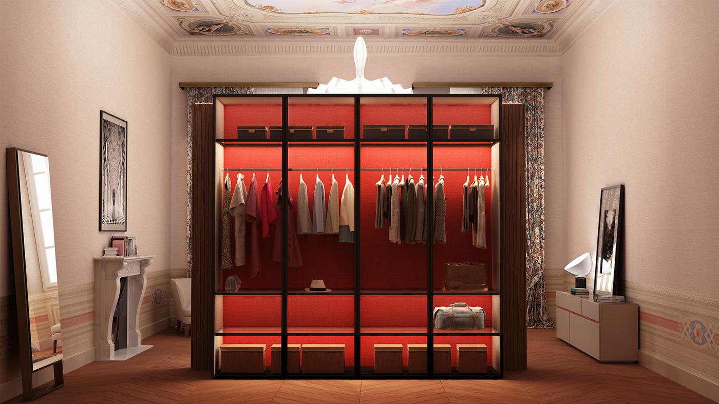 appartamenti privati architettura design firenze interior design  restauro