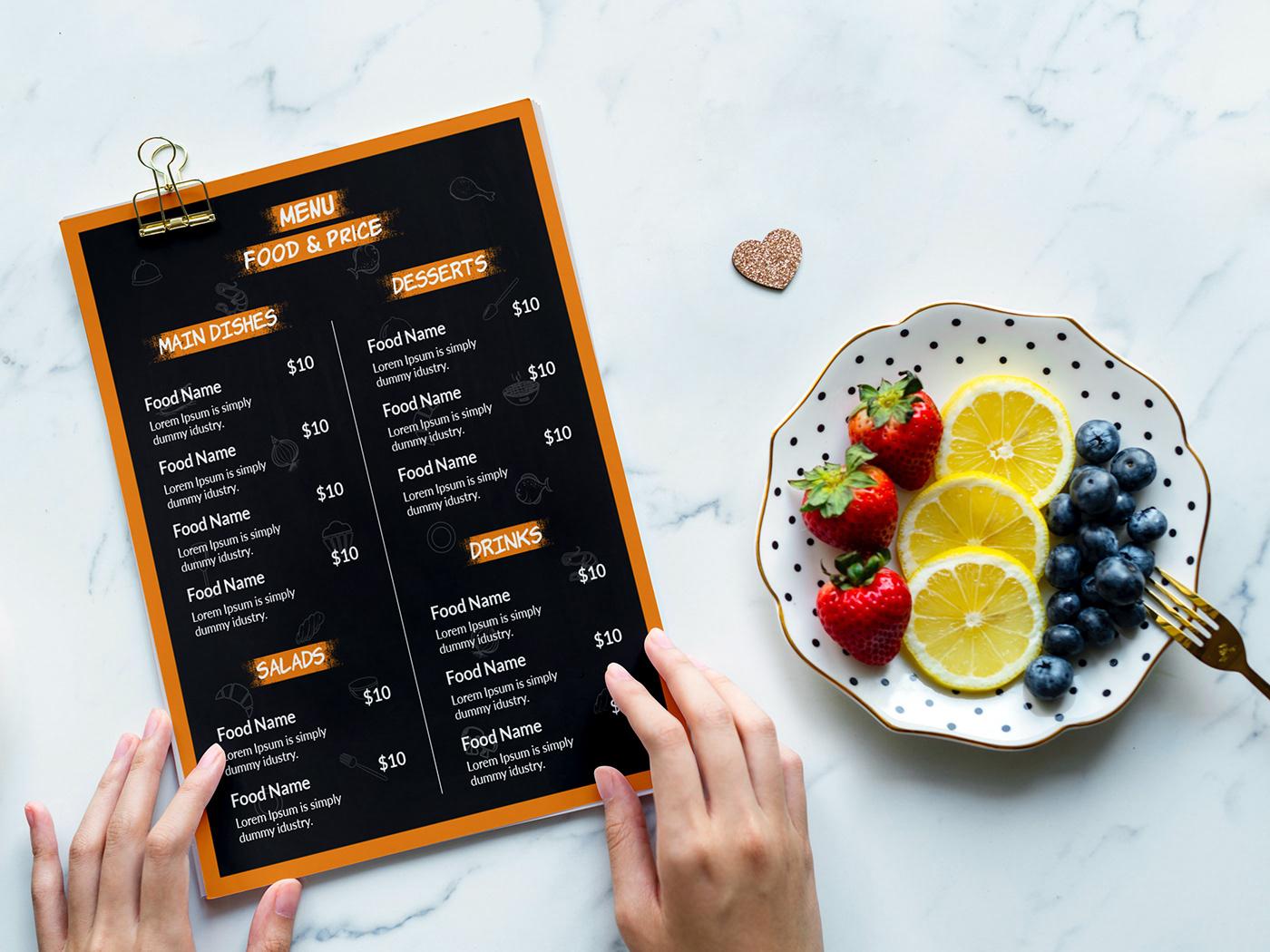 Image may contain: food, menu and fast food