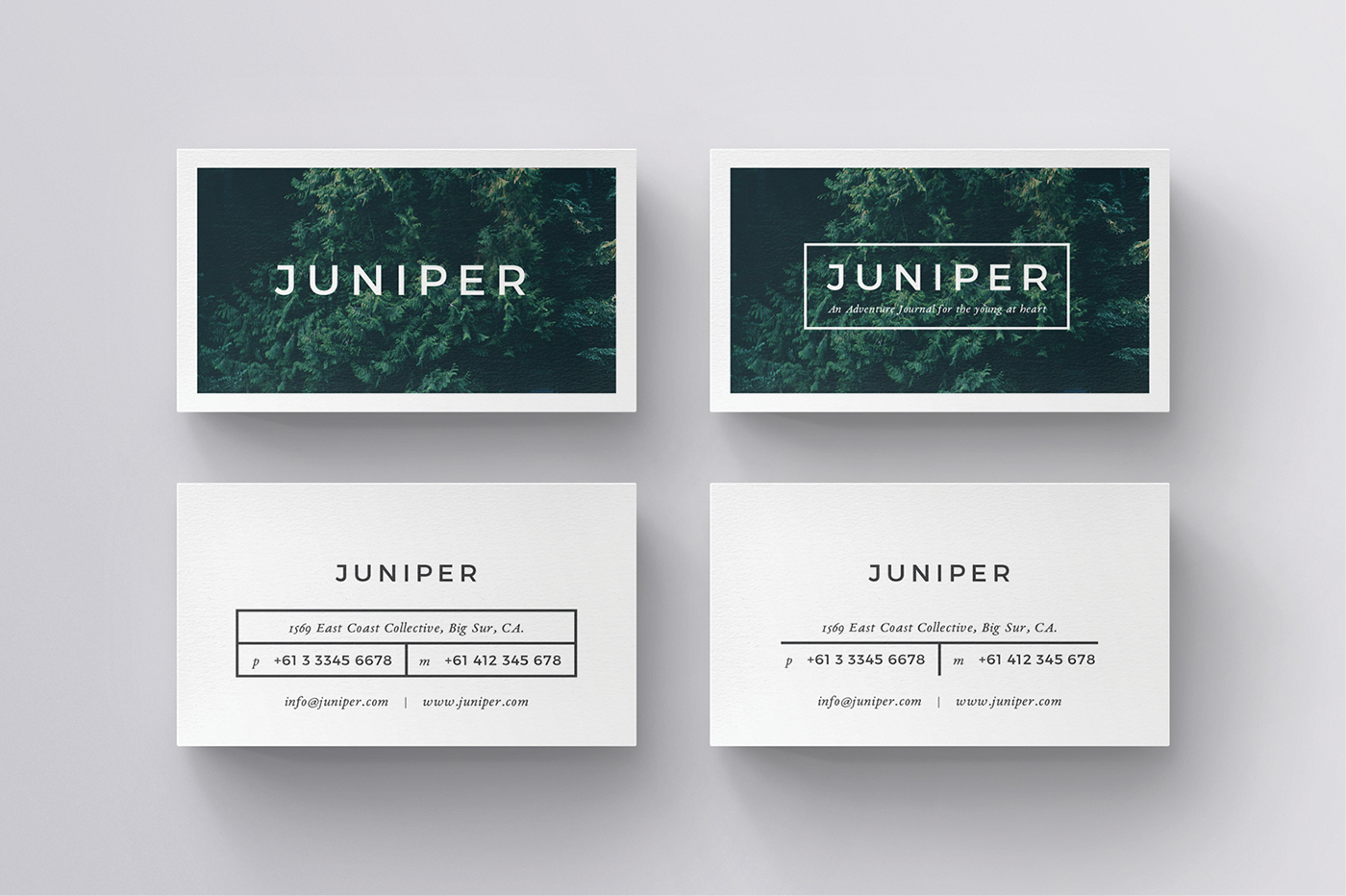 J u n i p e r business card on behance j u n i p e r business card template is available for purchase through my website and creative market reheart Gallery