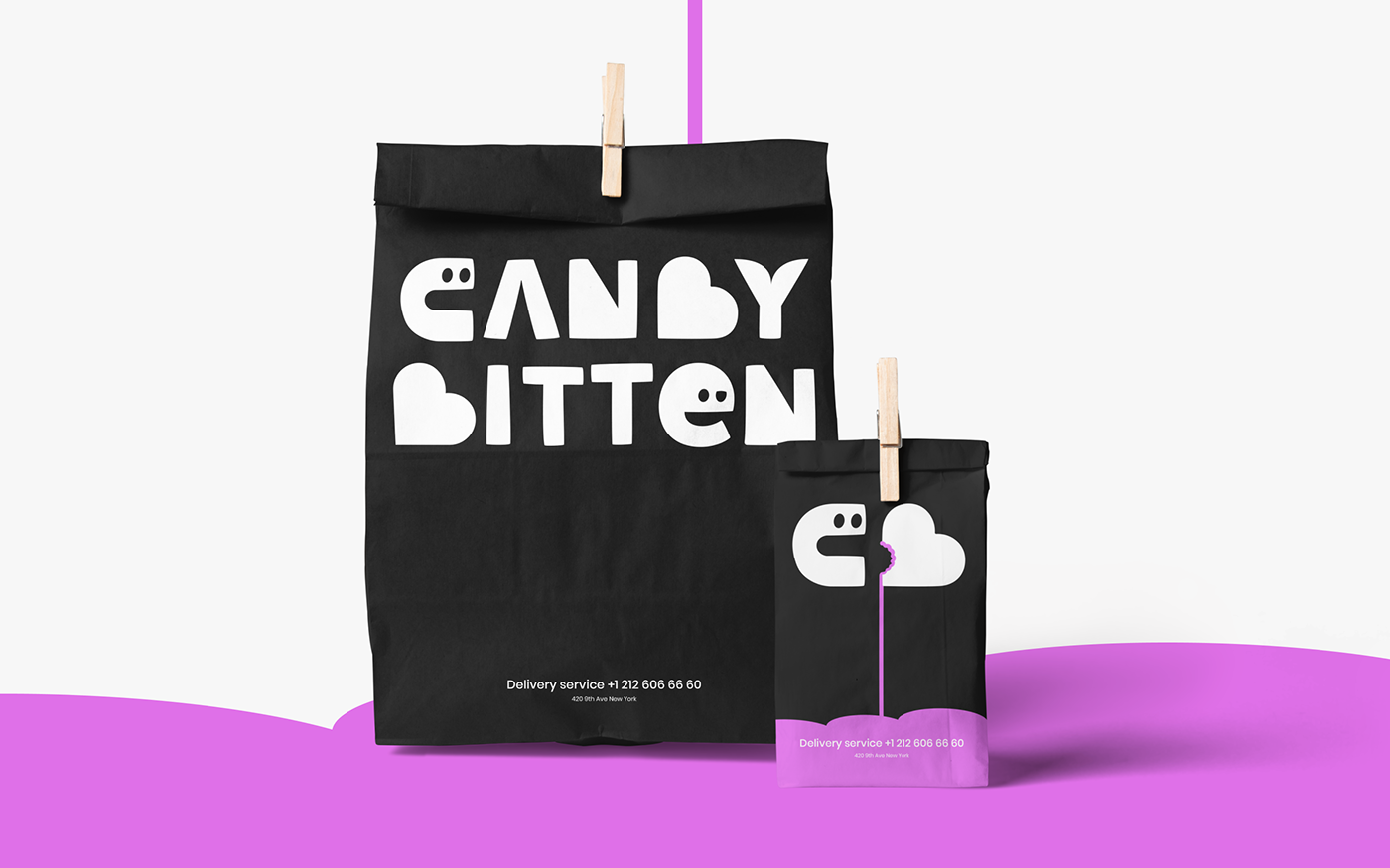 Candy Confectionery identity Logotype sugar
