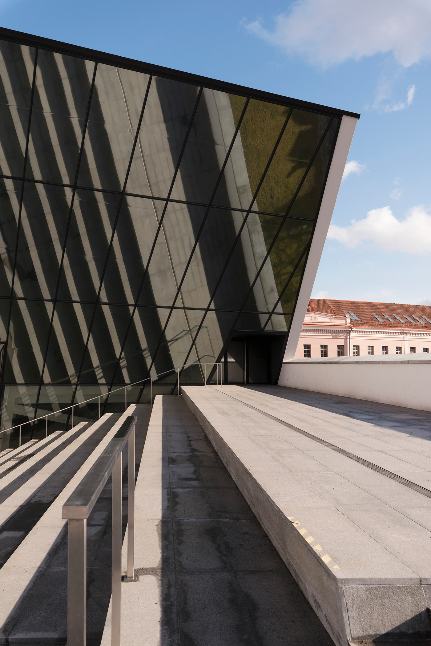 arquitectura Interior Photography libeskind lithuania long exposure museum night photography vilnius