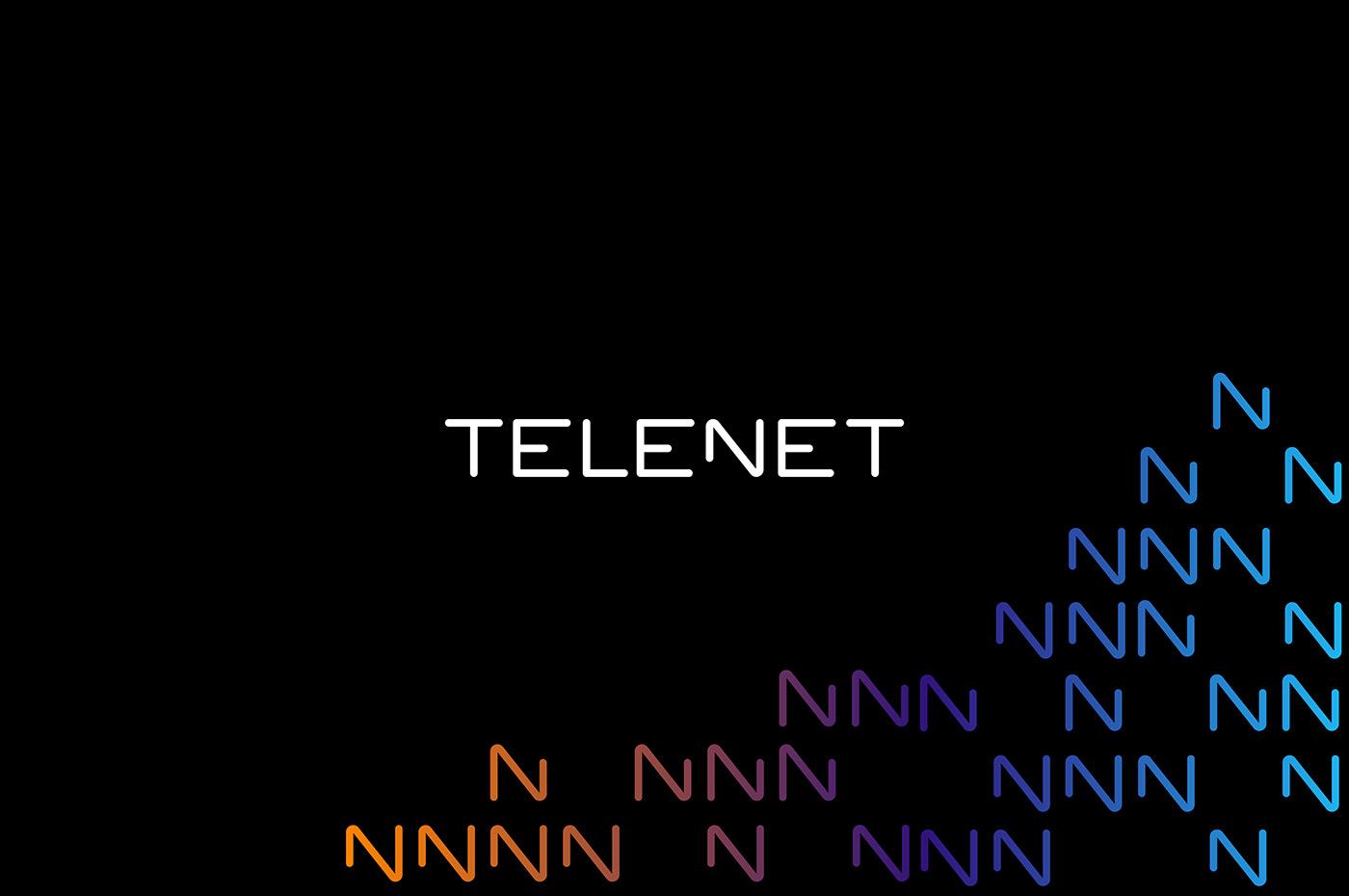 paralela – Telenet logo design