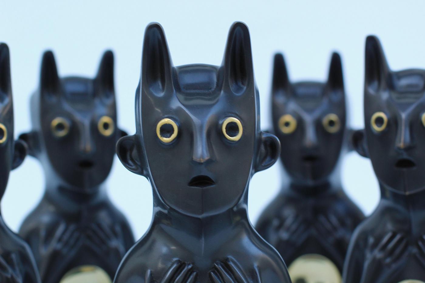 3dprint bronze sculpture sculpture tocooco Zbrush