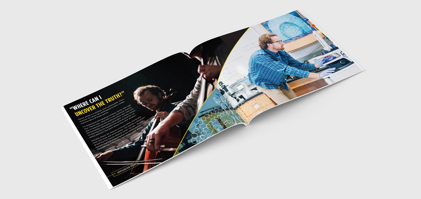 college University viewbook Brand Booklet
