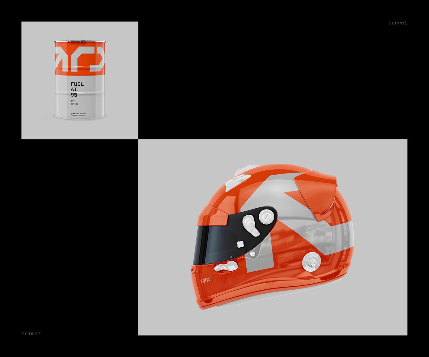 branding  car corporate Cyrillic engineer logo minimal Motorsport Russia typography