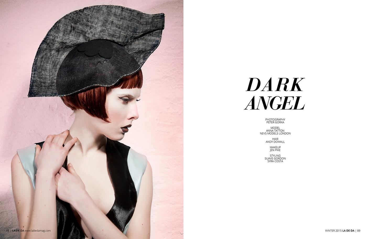 Fashion  Photography  editorial magazine publication model hair style Fotografia moda
