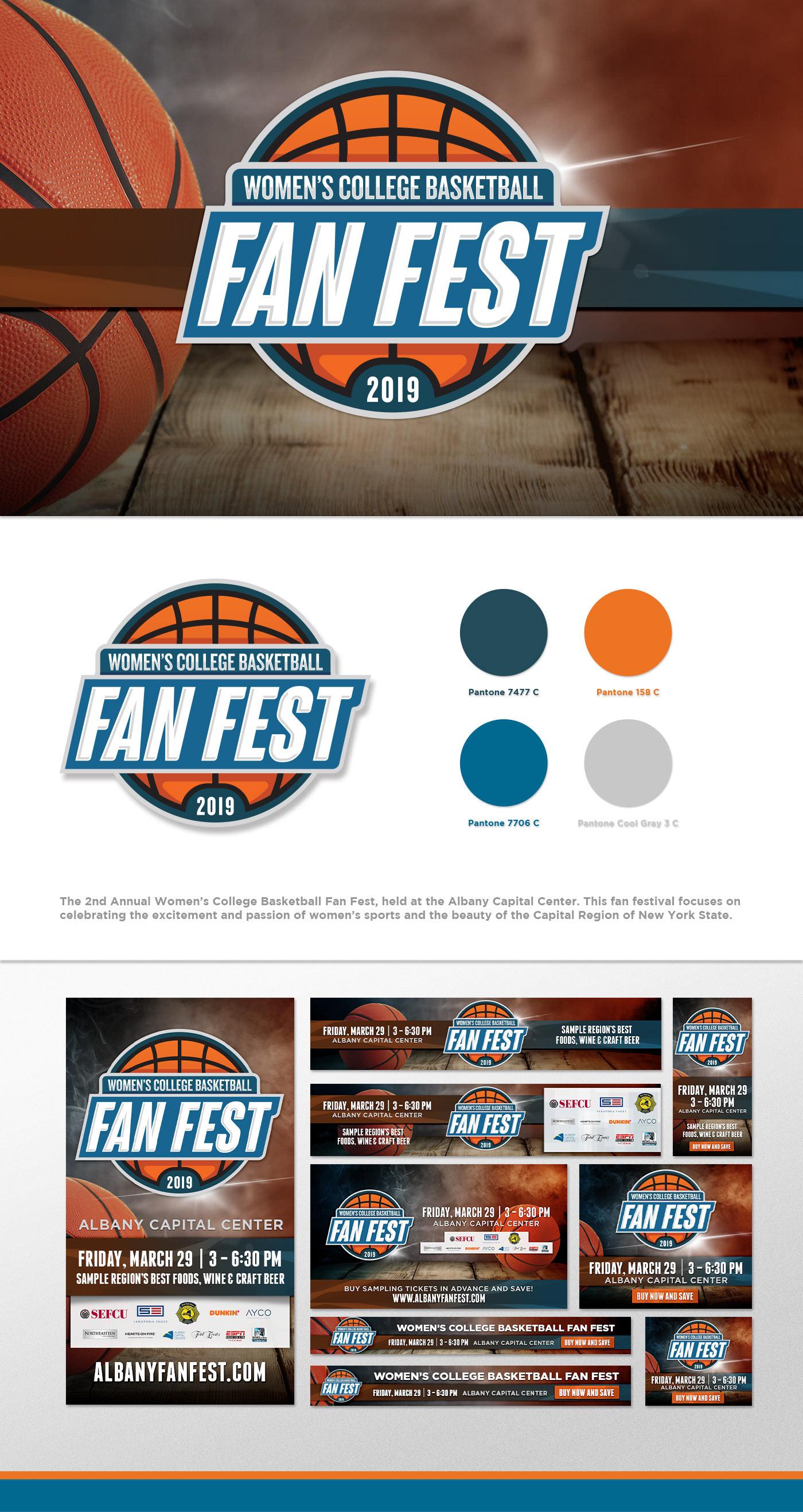 college basketball fan festival women's sports Albany NCAA New York