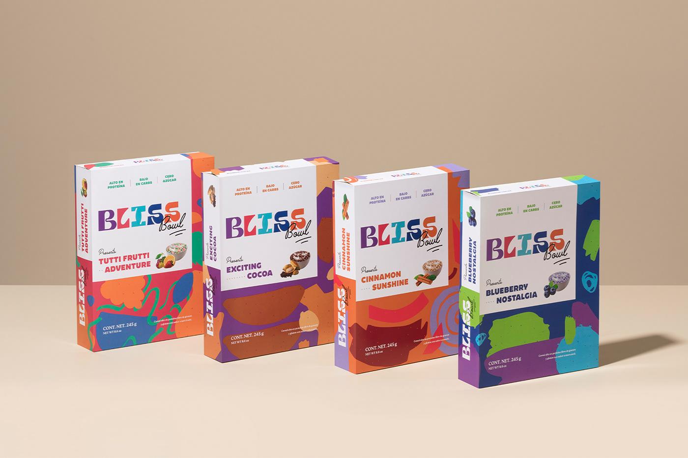 90s branding  Cereal milk nostalgia Packaging pattern Retro type Web