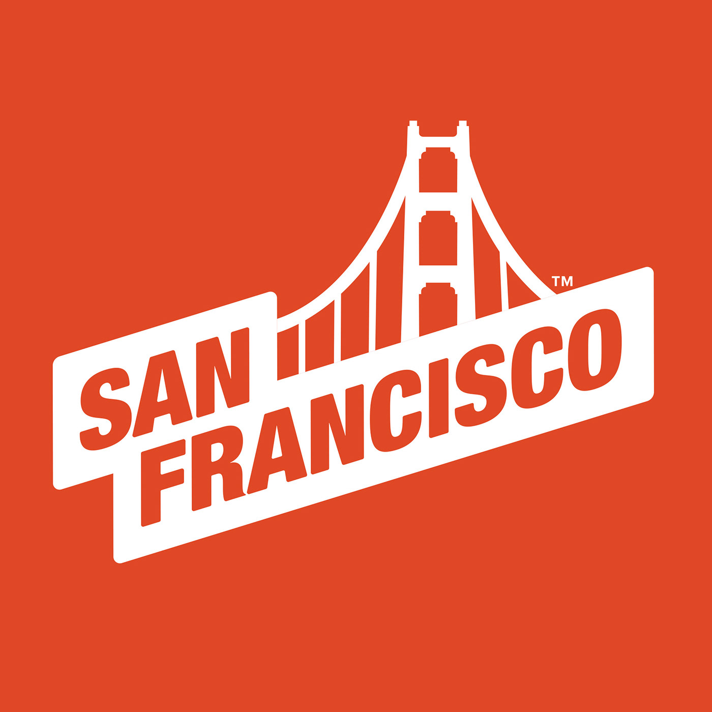Logo Design logo branding  Travel agency tourism bridge san francisco