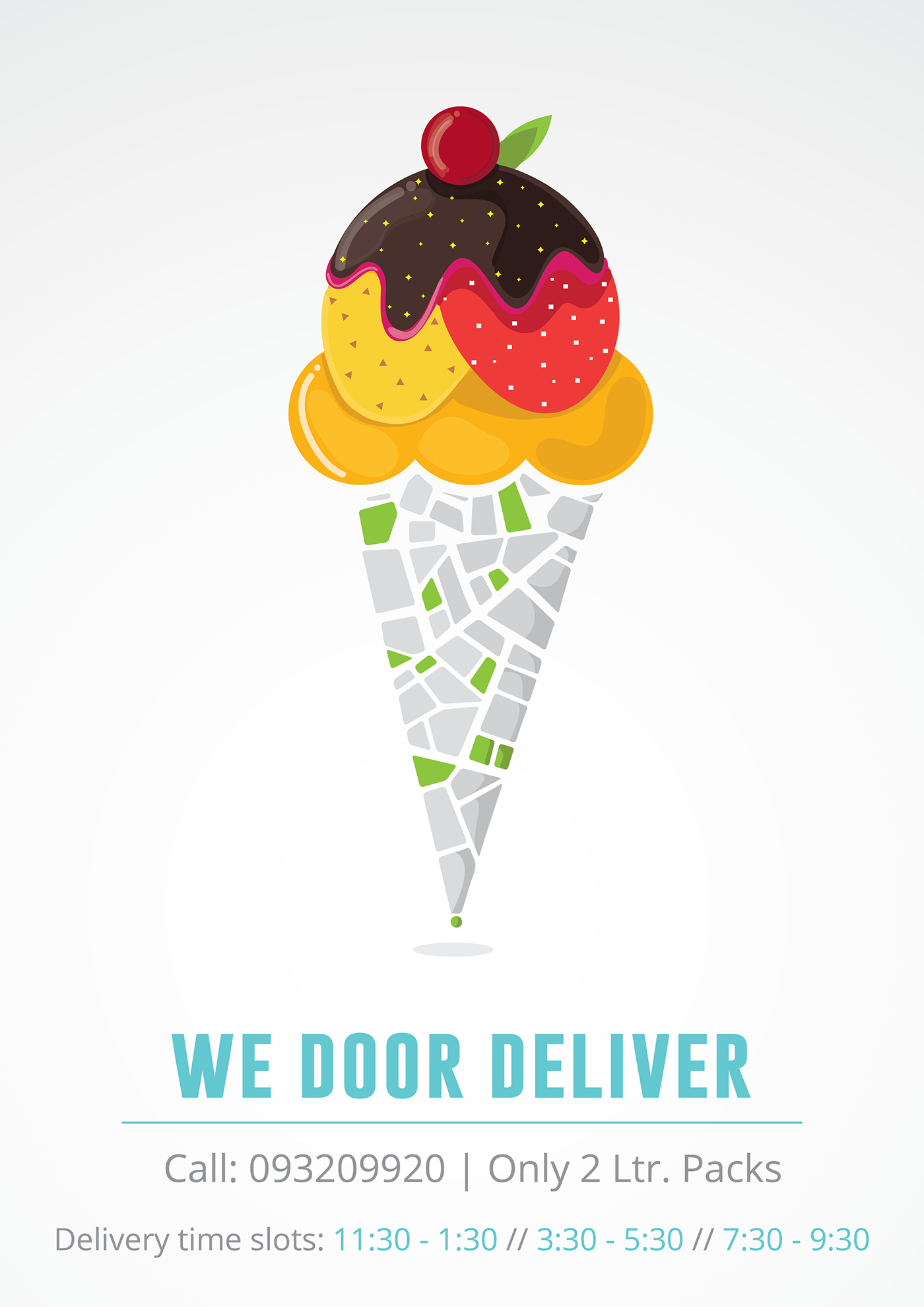 Ice Cream Delivery Posters on Behance