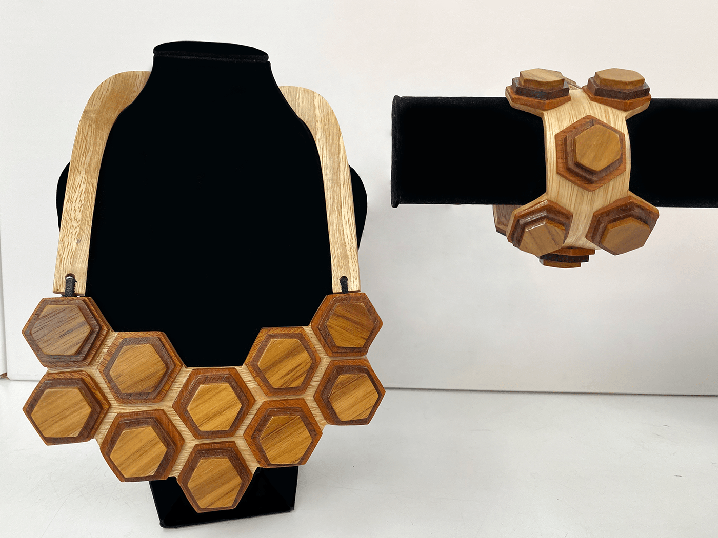 Image may contain: outdoor object, honeycomb and art
