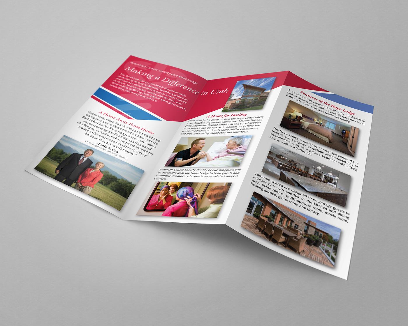 SLC Hope Lodge Brochure - American Cancer Society on Behance