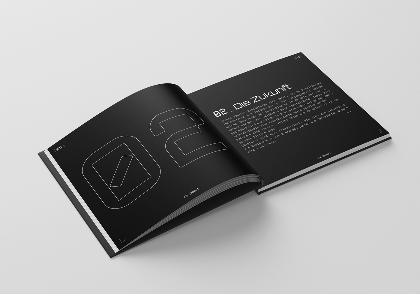 Bachelorthesis book Bookdesign bookillustration graphicdesign ILLUSTRATION  Layout print Sciencefiction Scifi