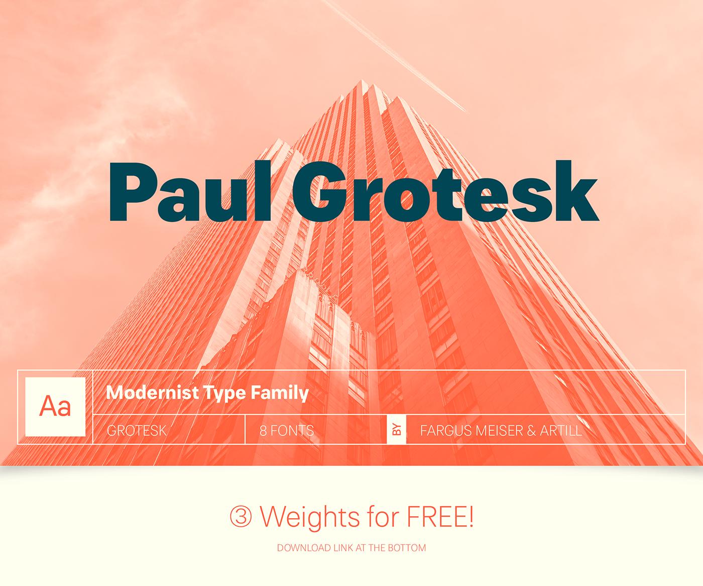 Paul Grotesk Font Download