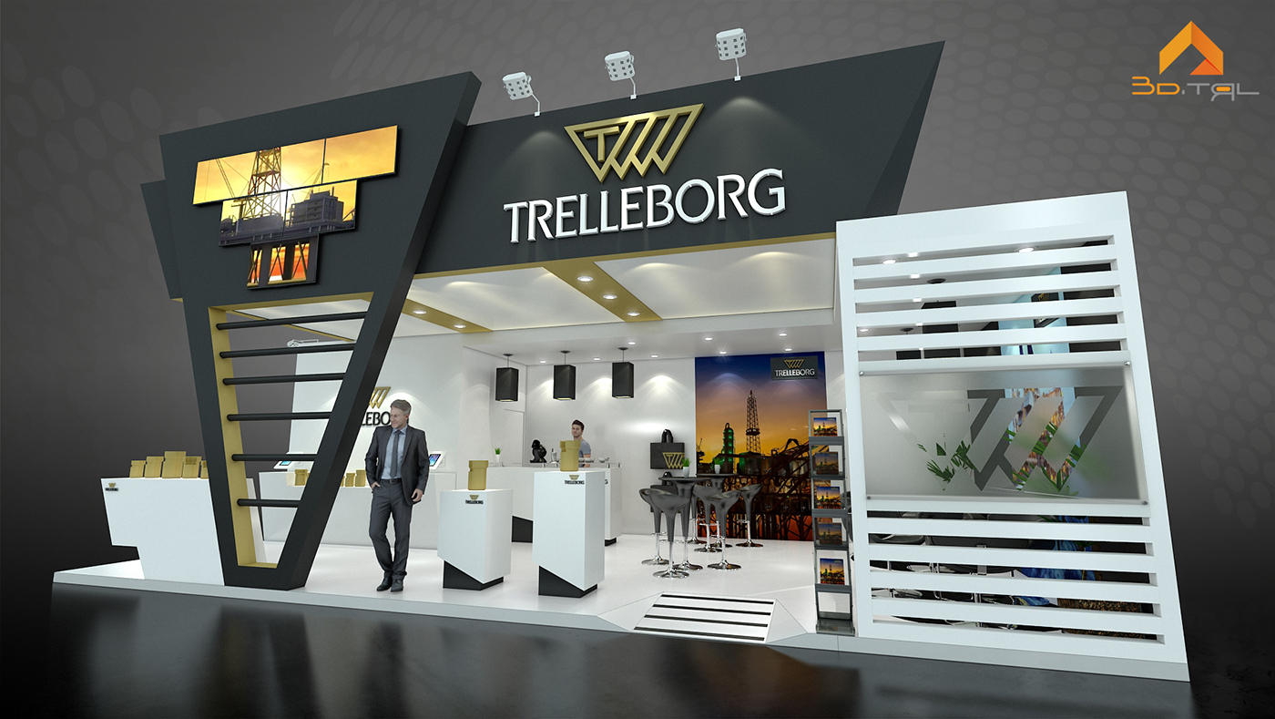 Exhibition Stand Job Vacancies : Trelleborg job on behance