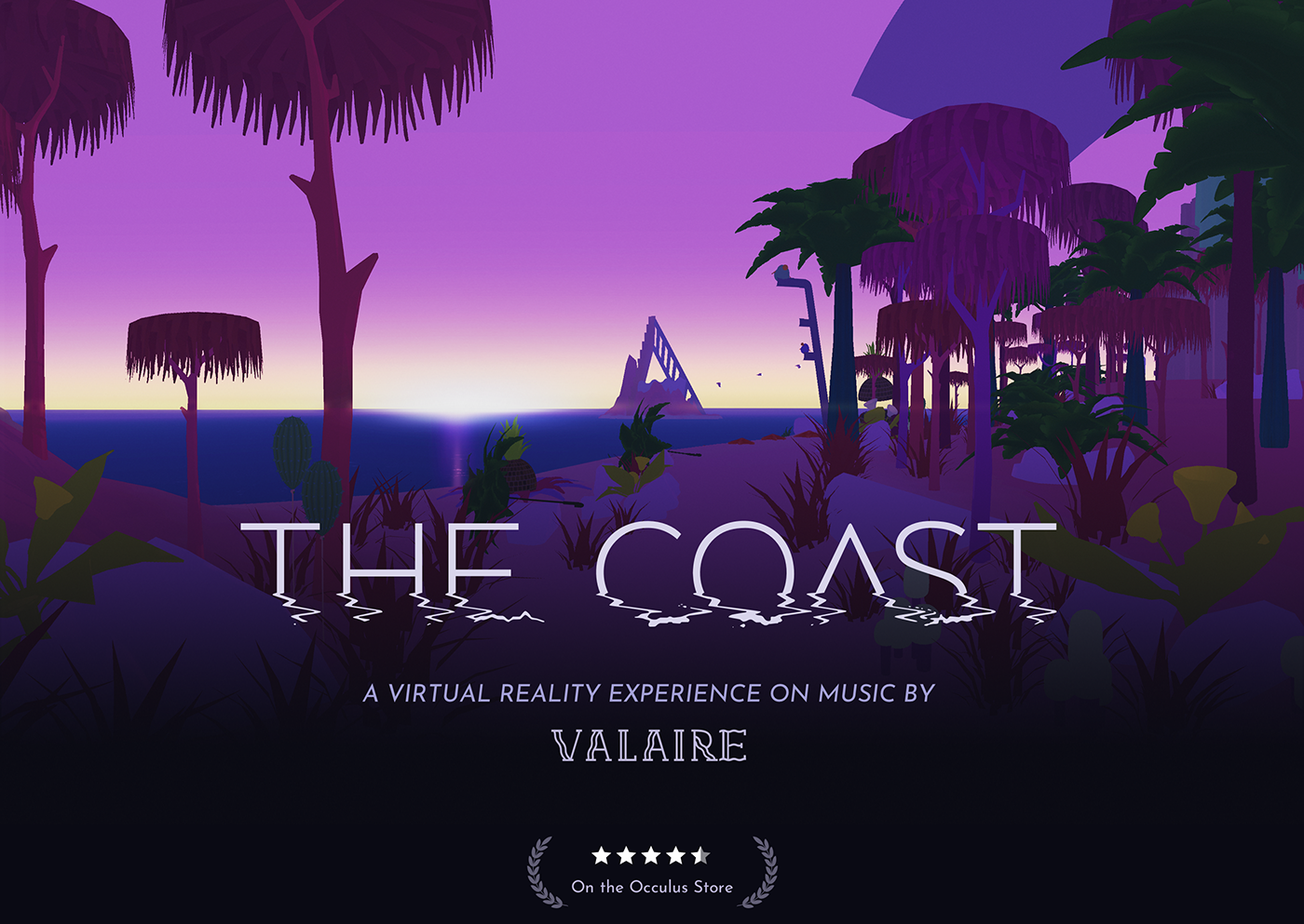 vr Virtual reality turbulent Valaire the coast music video Experience immersive music Réalité virtuelle