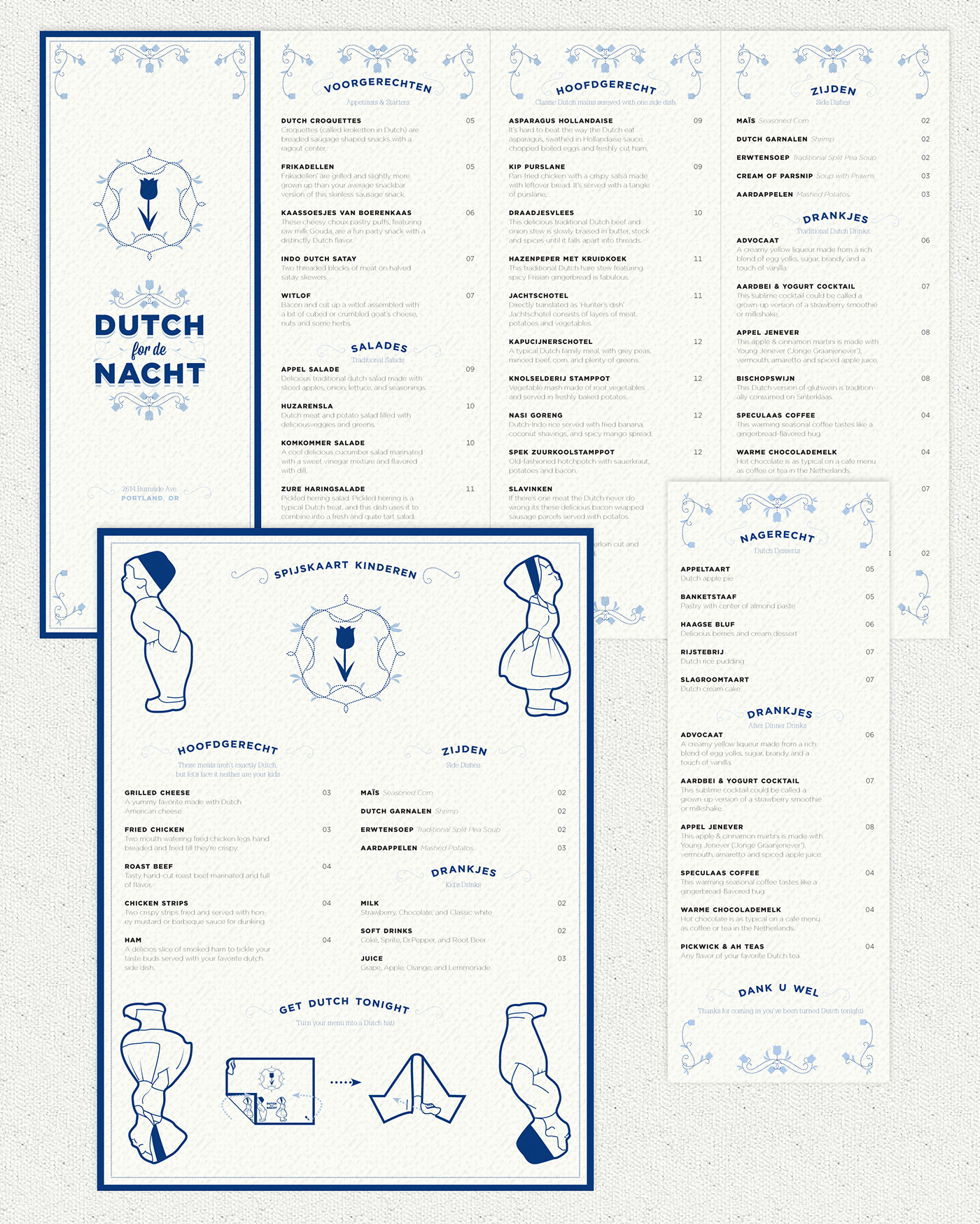 Dutch For De Nacht On Behance