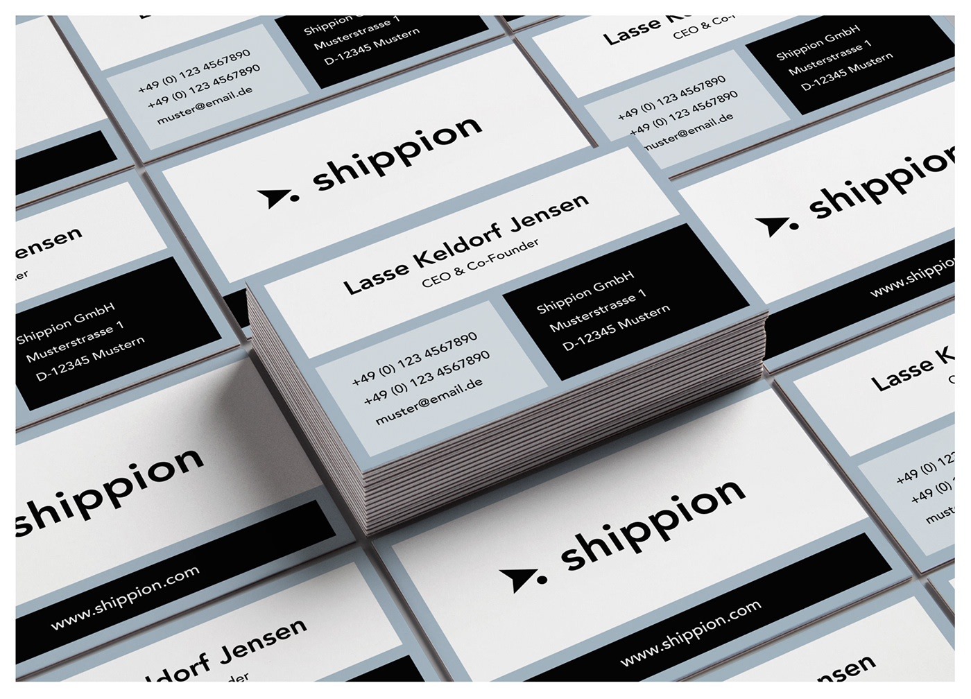 branding  corporate design identity logo freight modern styleguide brand