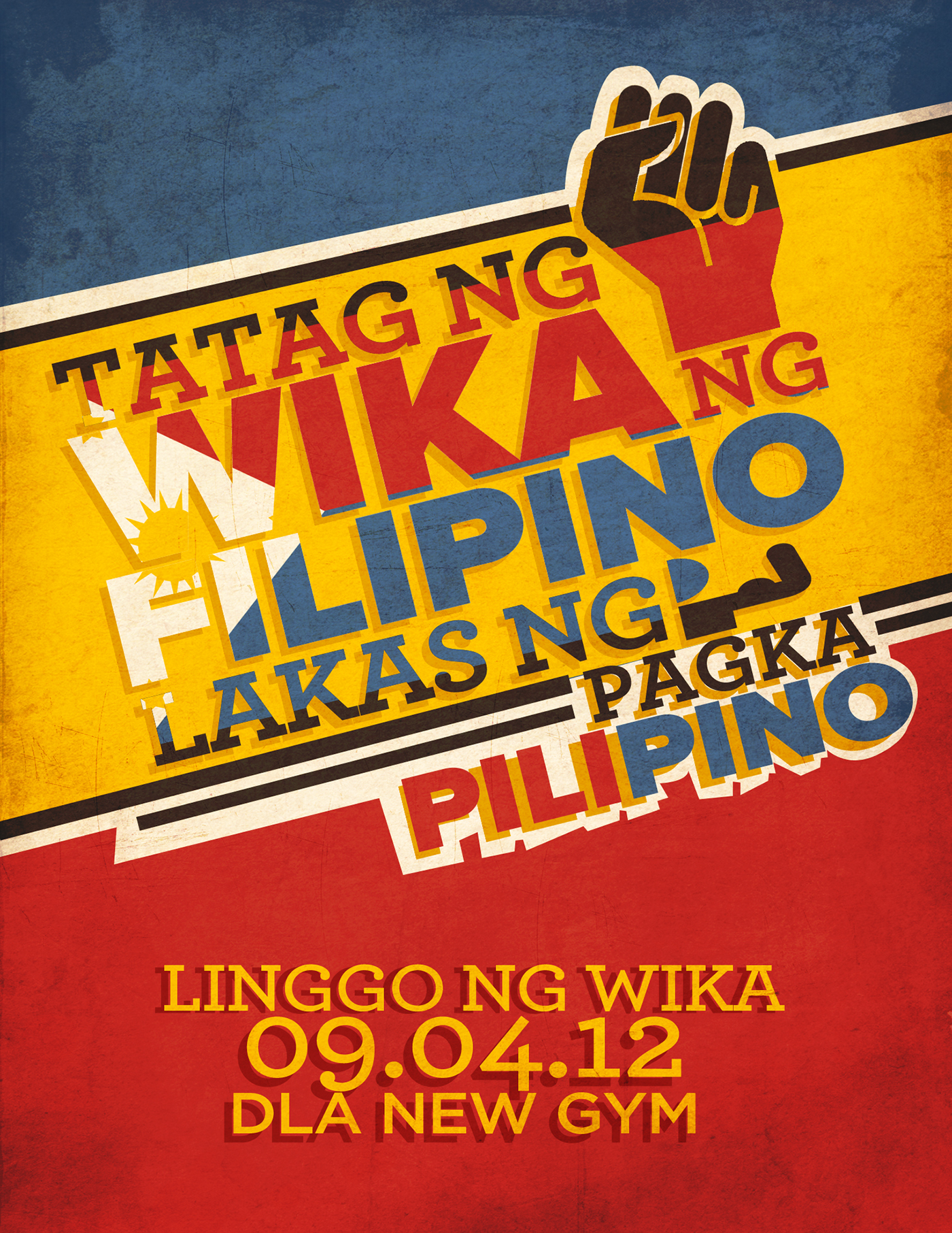 Buwan ng Wika-Poster Design on Behance