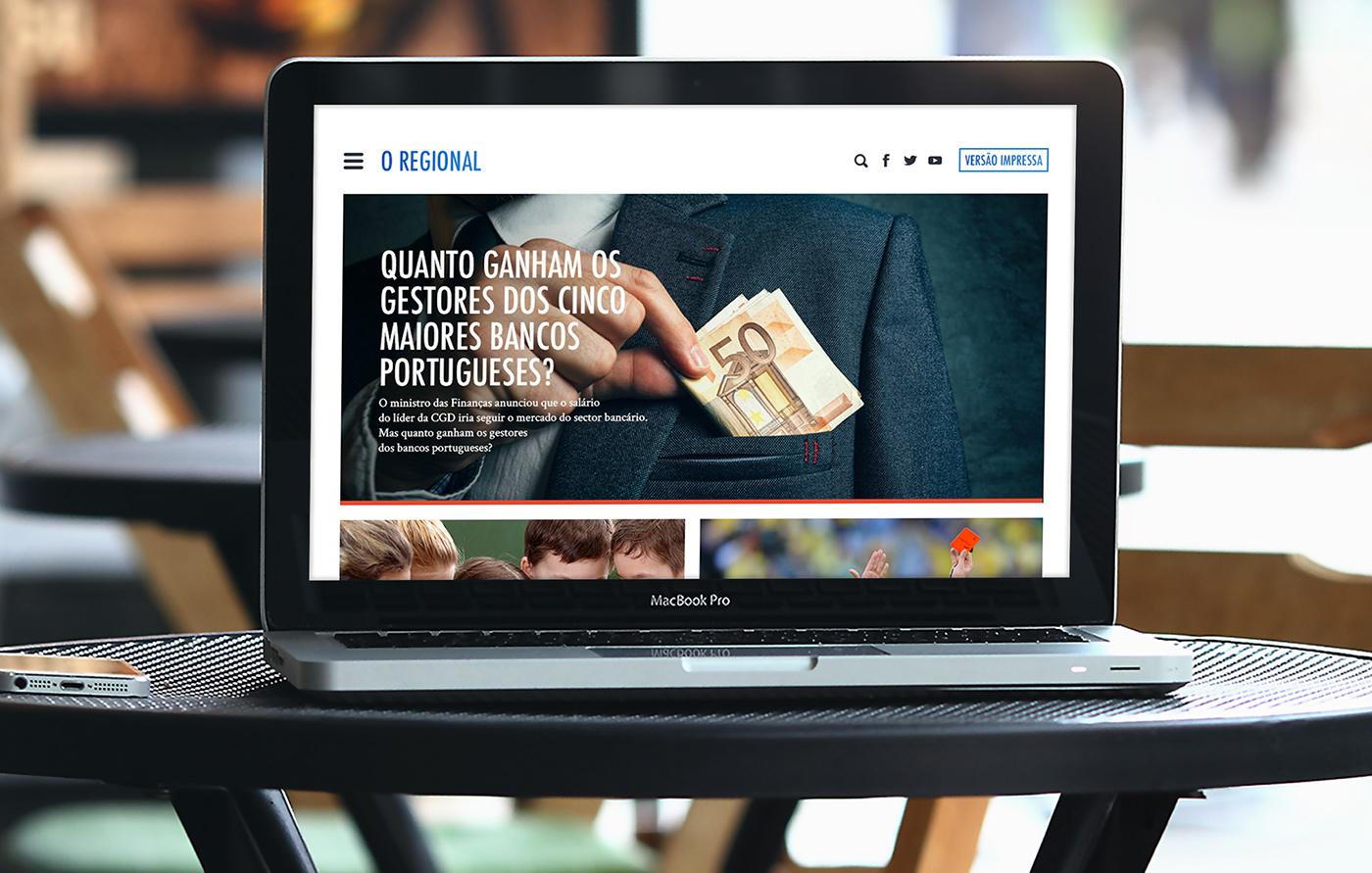 redesign ux/ui Website