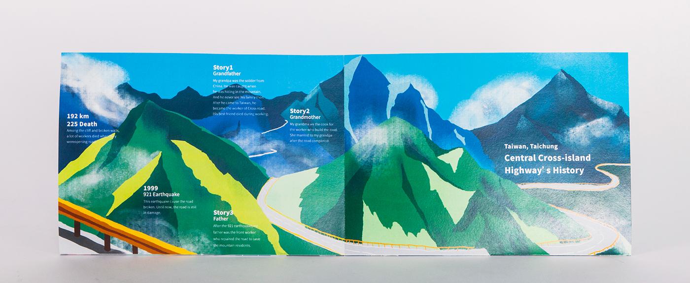 mountain taiwan taichung 中橫 Zine  green editorial