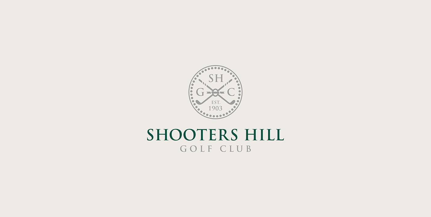 logo branding  golf Golf Club digital vector Icon mark design ILLUSTRATION