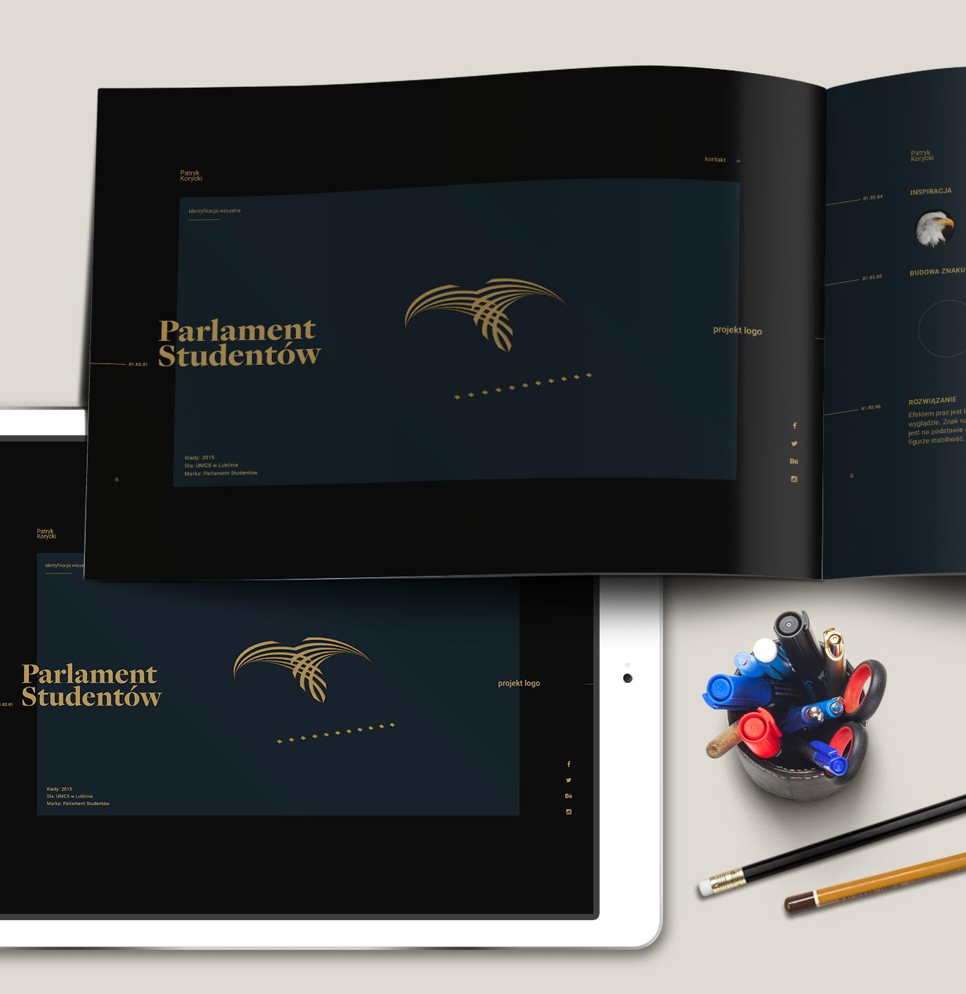 Resume CV Curriculum Vitae free download Edited Illustrator minimalistic polish korycki