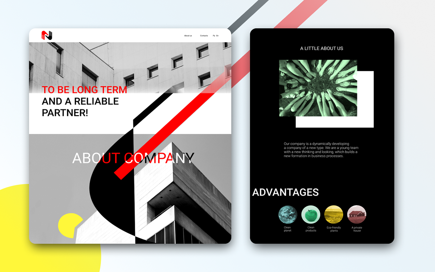 Design Company Figma firstjob graphic design  interaktions design Modern Design sited design Suprematism Webdesign Website