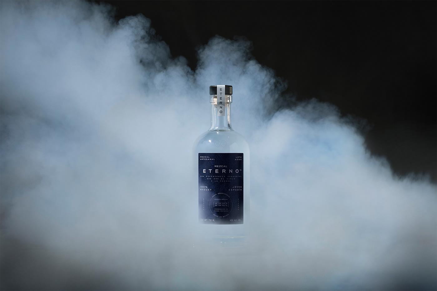 agave branding  drinks eterno liquor mezcal spirts universe