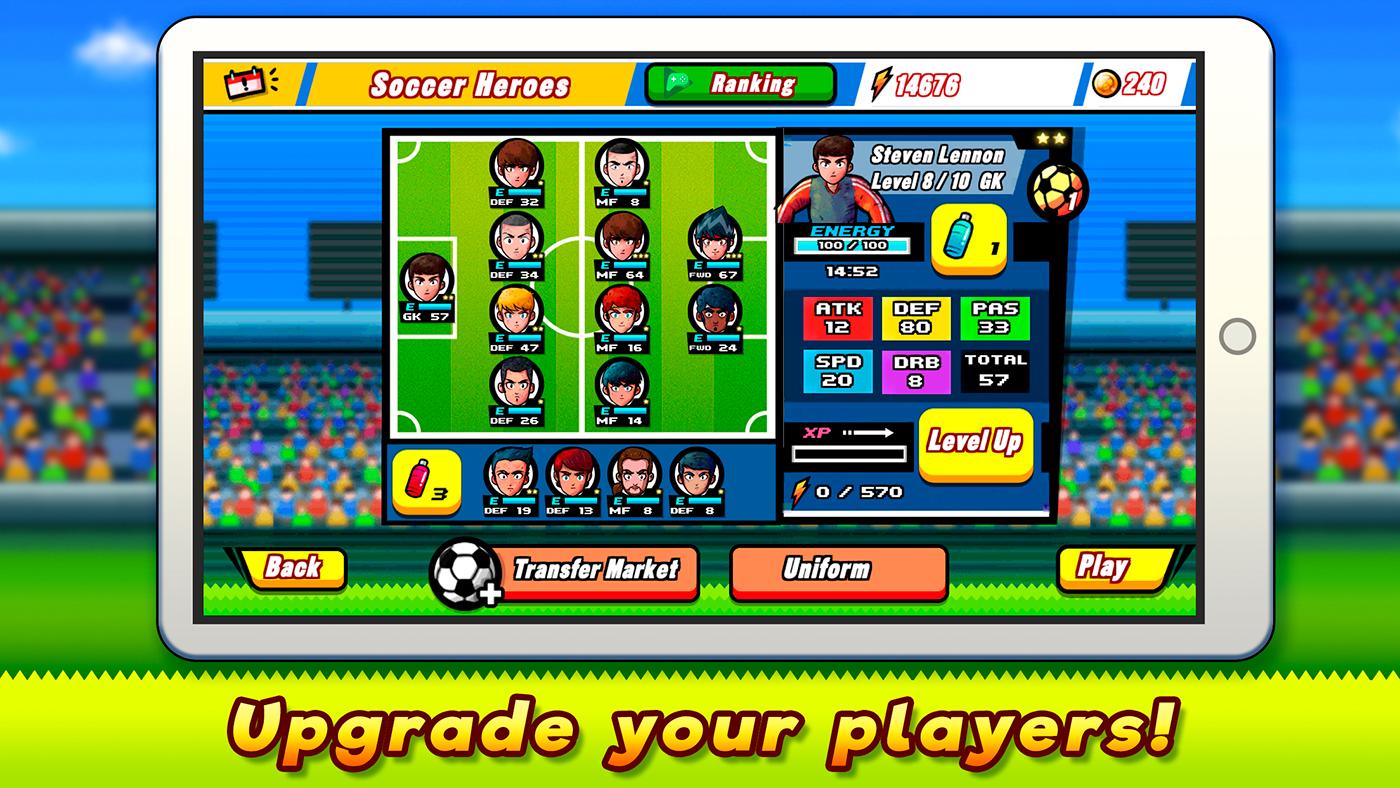 soccer rpg game indiegame