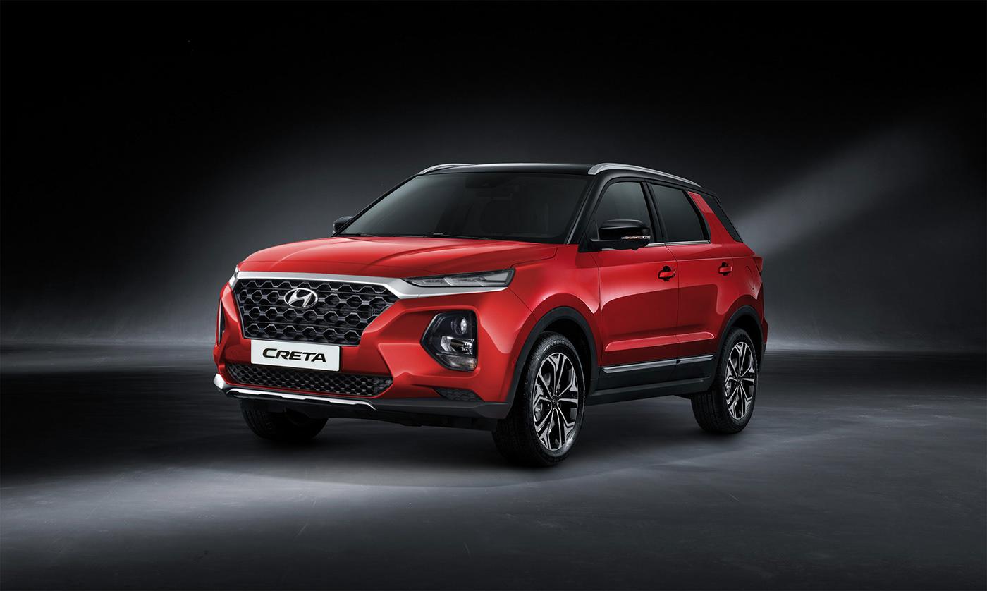 Hyundai Creta 2020 on Behance