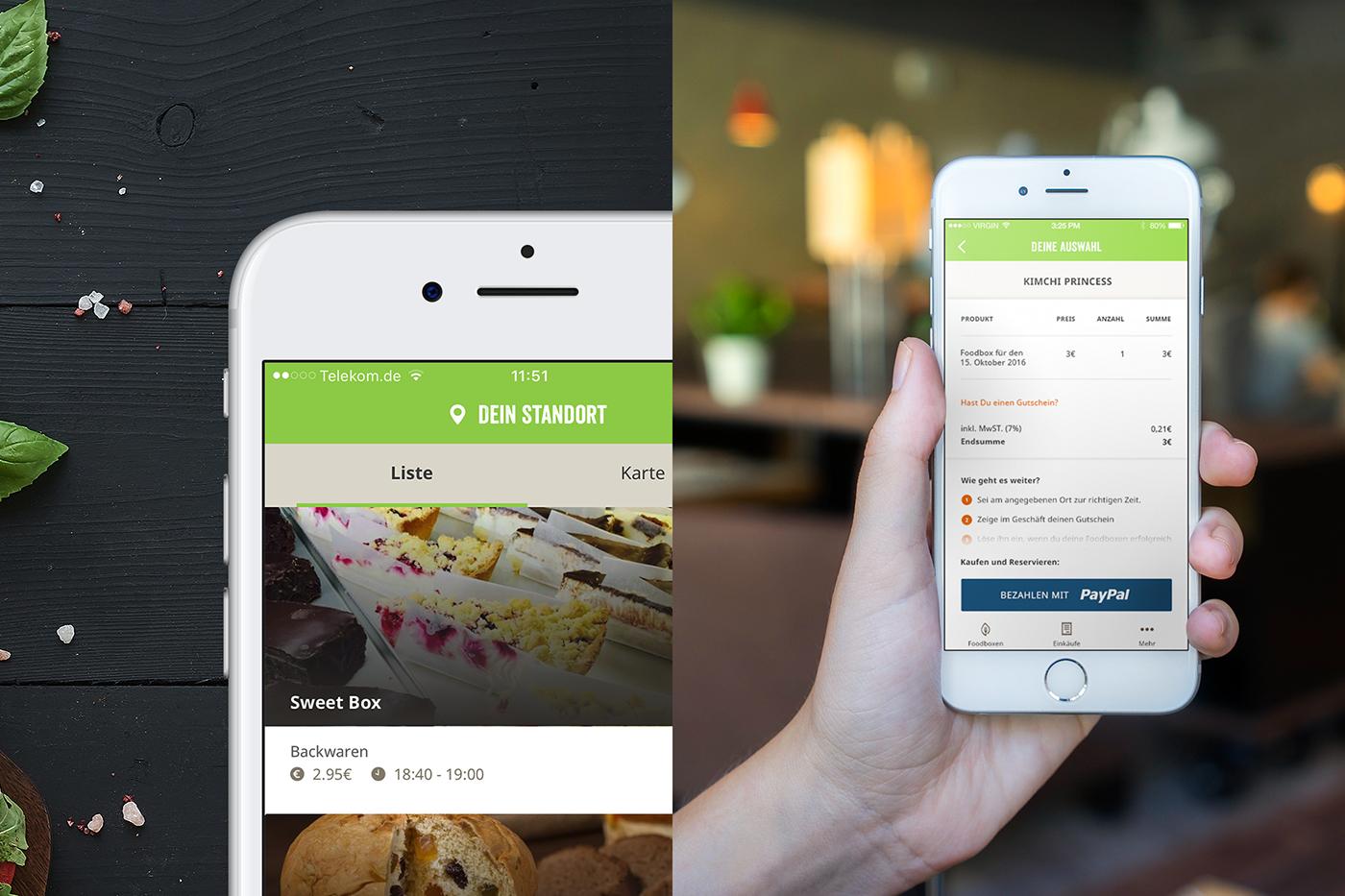 ios android crossplatform app branding  ux UI berlin hybrid