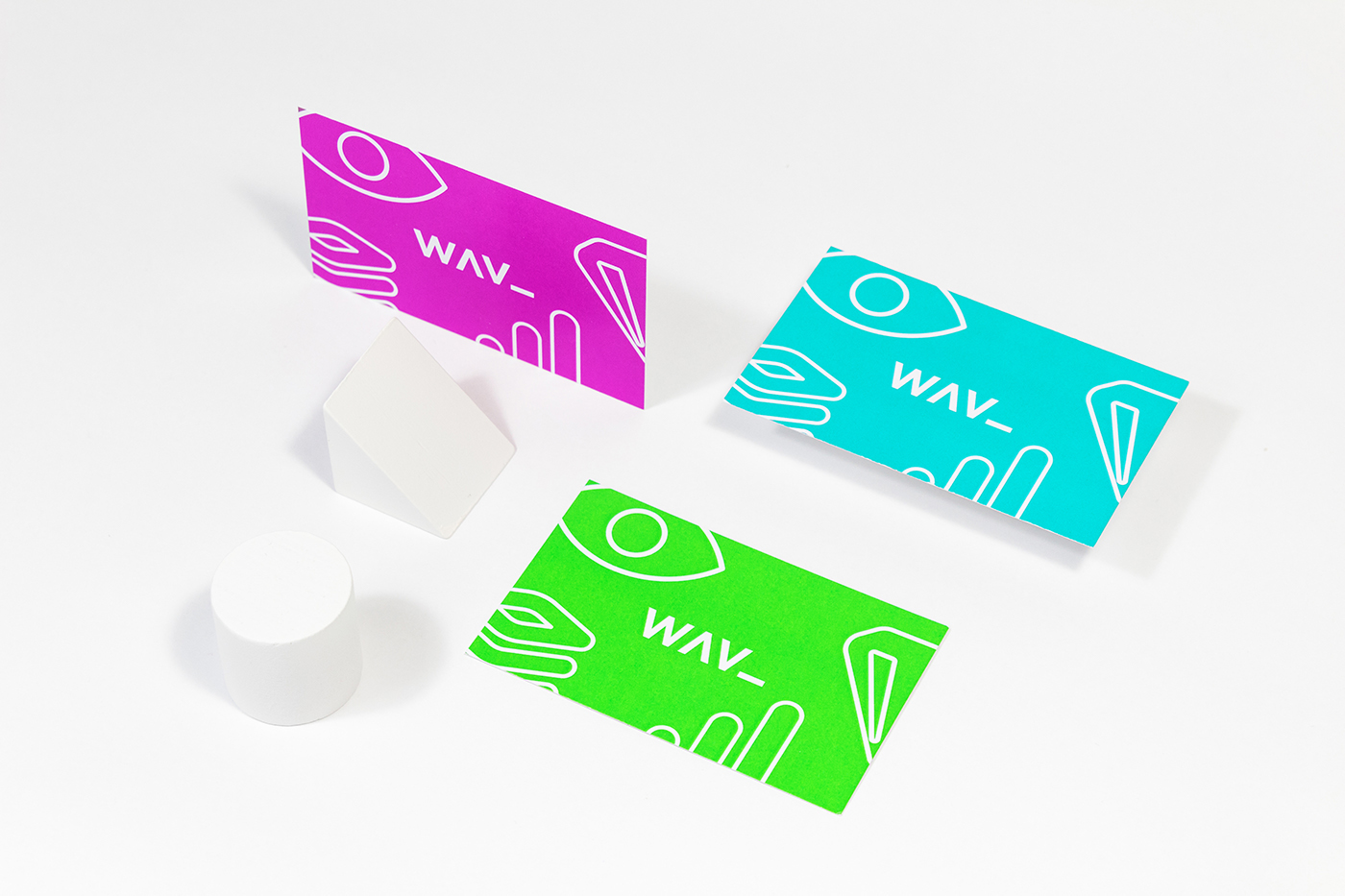 minimal design brand agency future futuristic clean fresh colorful bold