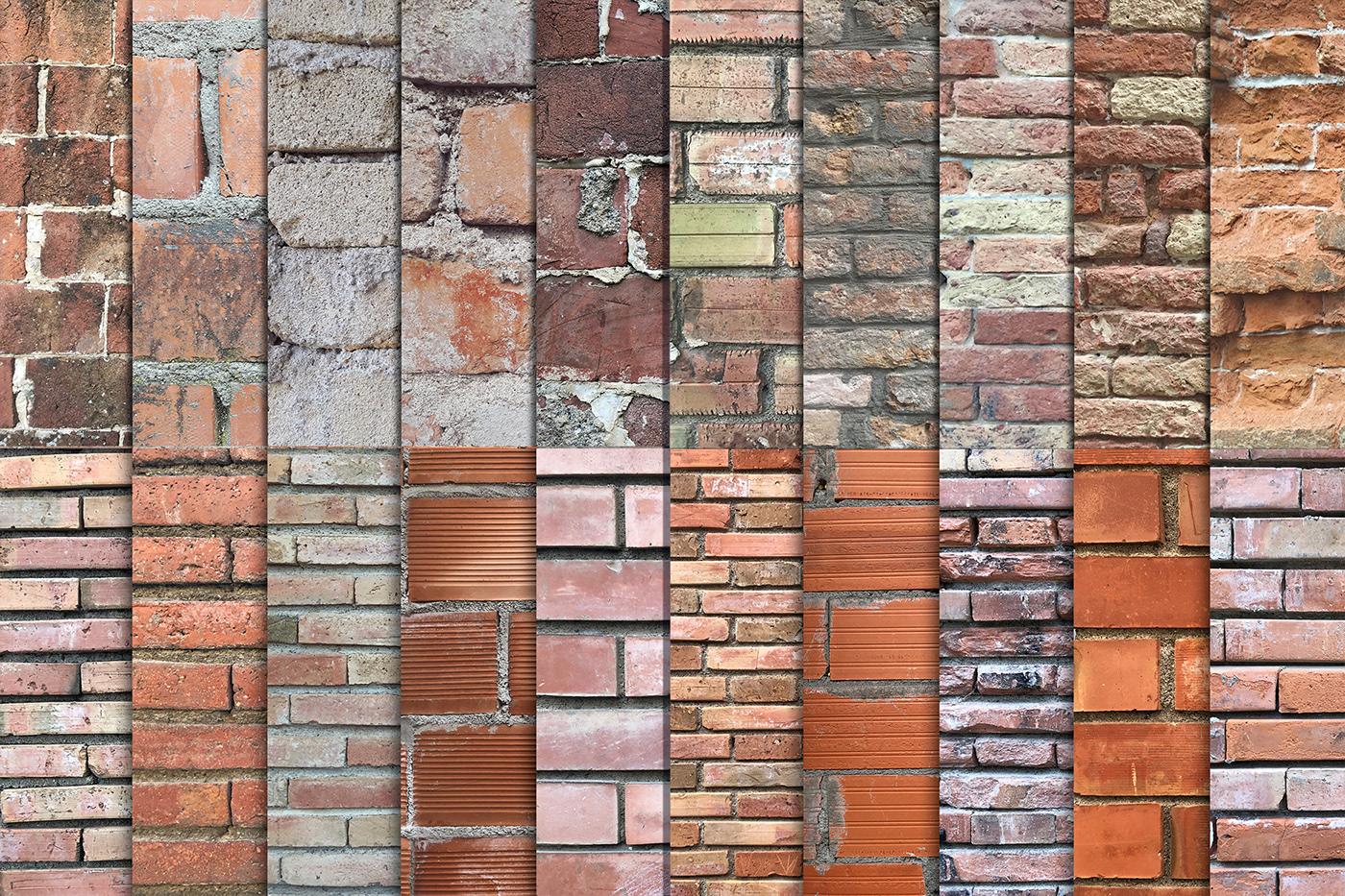brick bundle grunge old sale Street textures wall