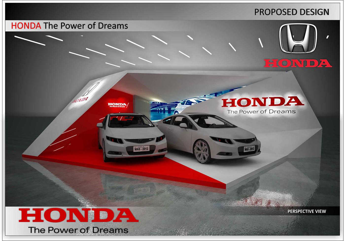 Exhibition Design  interior design  Event Design mall to mall road show event