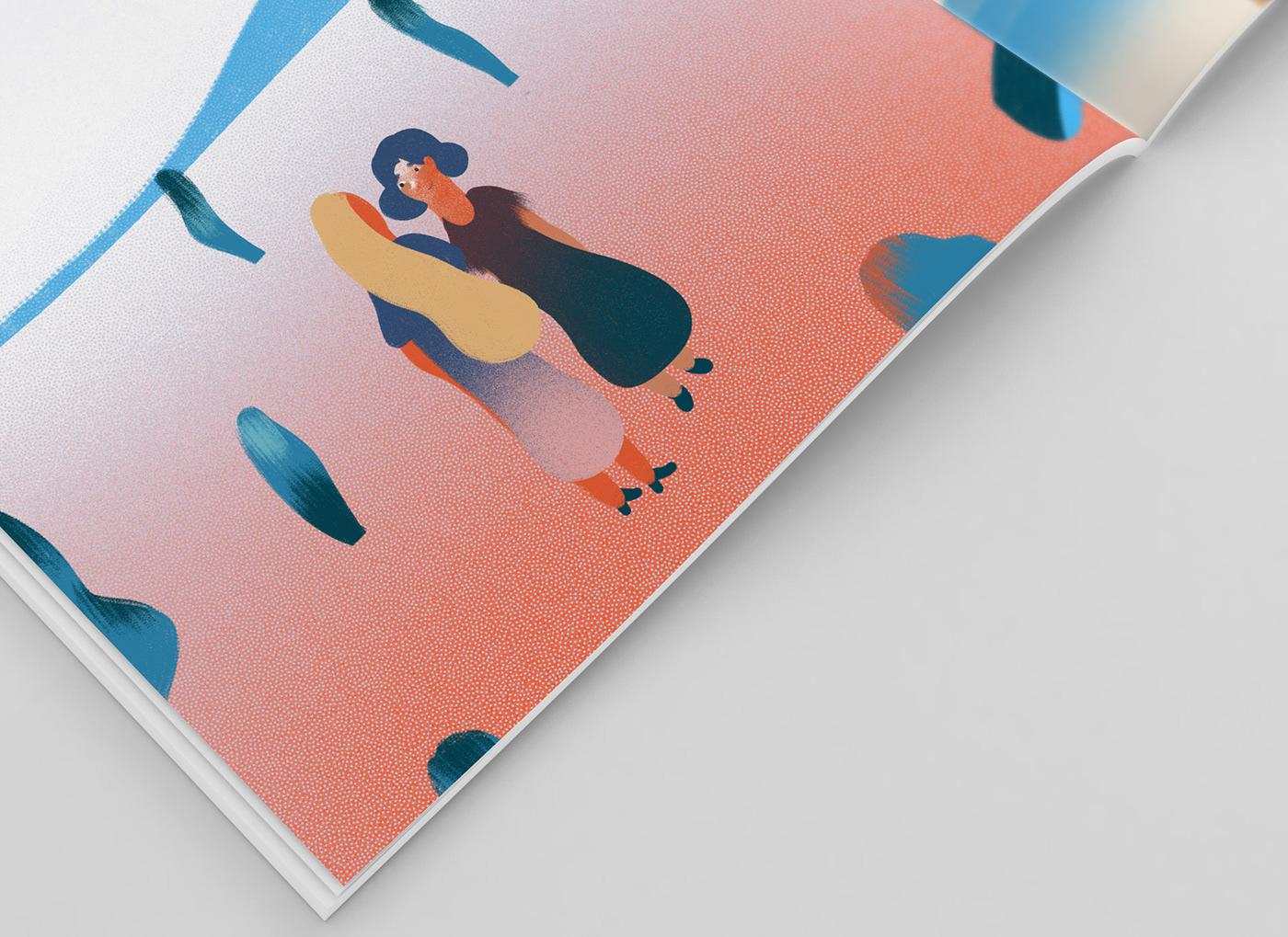 cover book art ILLUSTRATION  child holy mess Christian design Digital Art  Slovak
