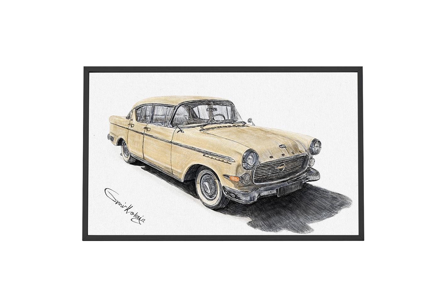 Image may contain: land vehicle, vehicle and car