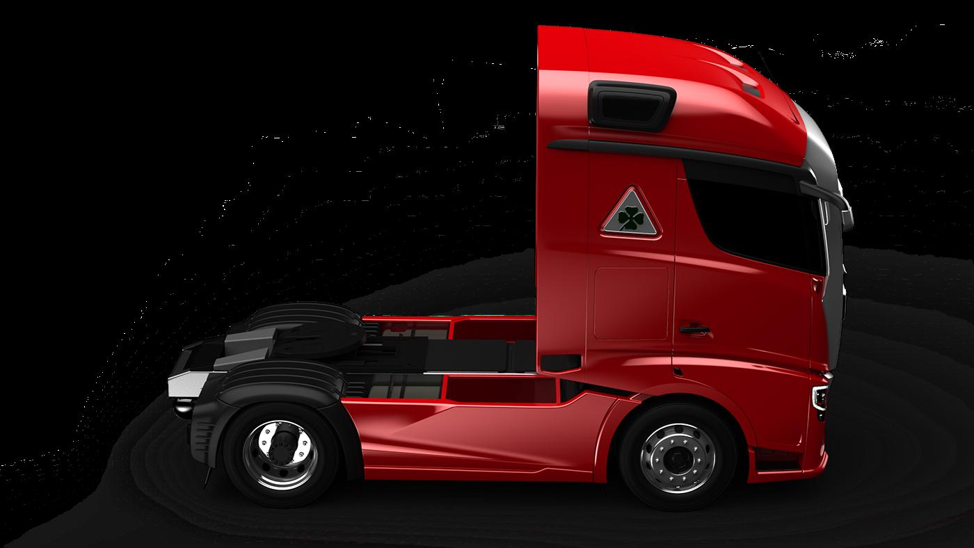 alfaromeo Truck Alias 3D concept car design