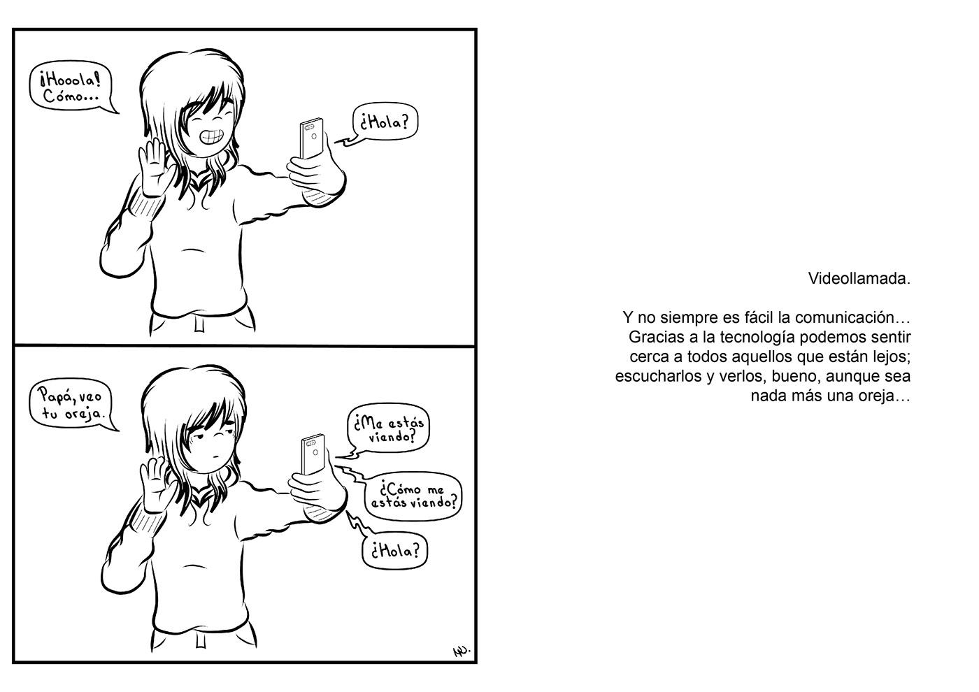 humor gráfico Illustrator ilustracion ilustración digital latinos por el mundo Migración revista viñeta comic