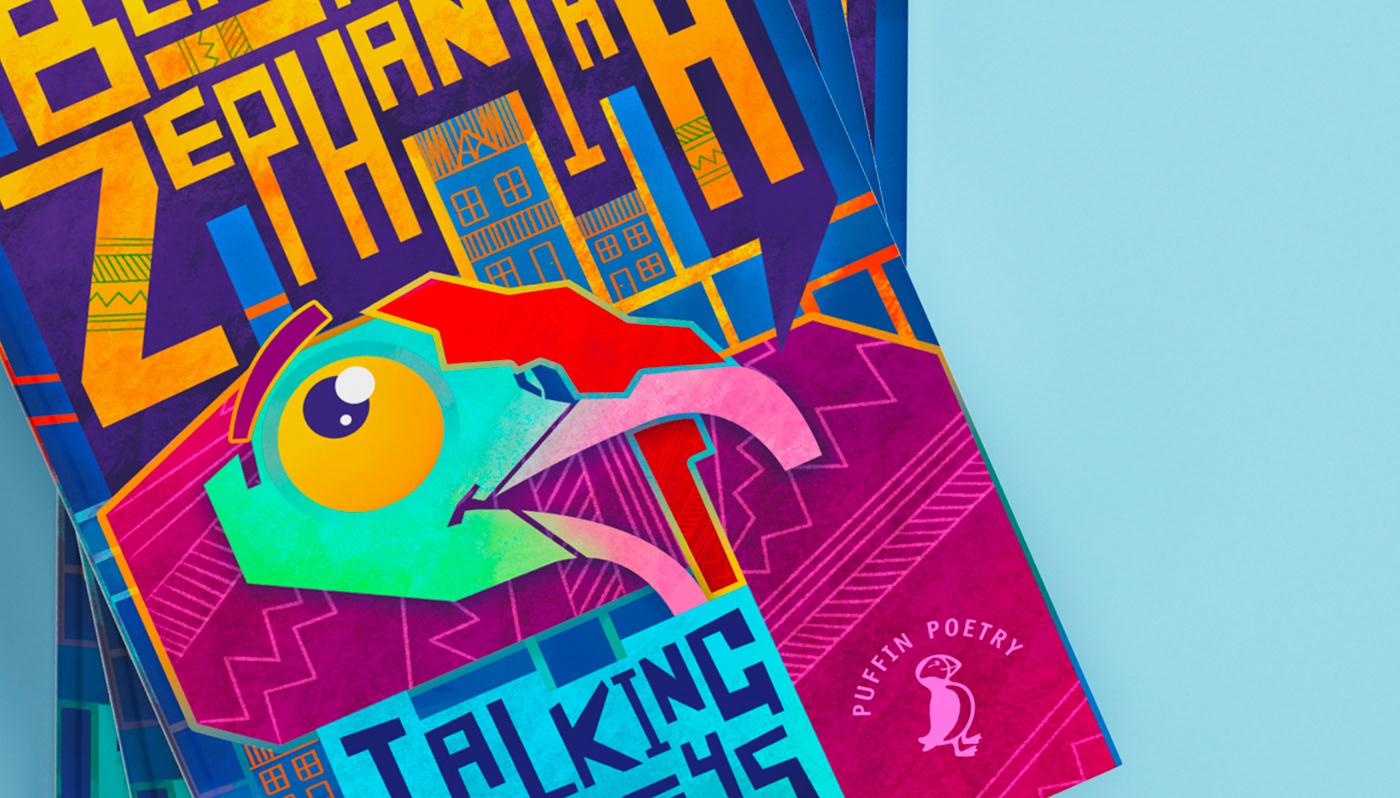 book cover children's book community Fun Poetry  Talking Turkeys Turkey wacky PRHDesignAward