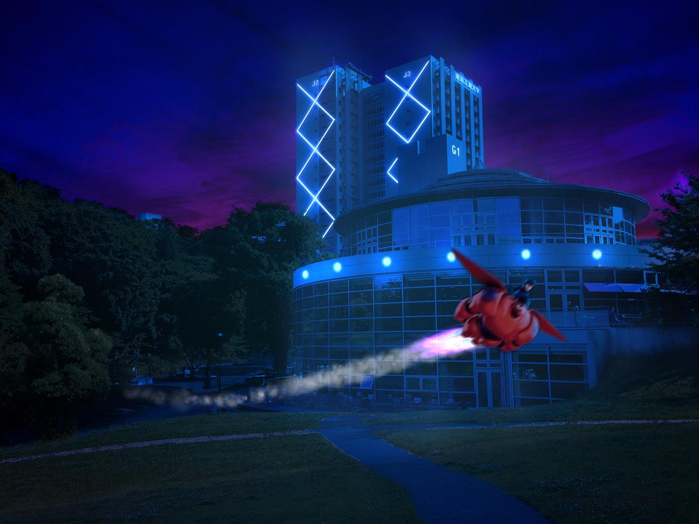 東工大にベイマックス Big Hero 6 At Tokyo Institute Of Technology