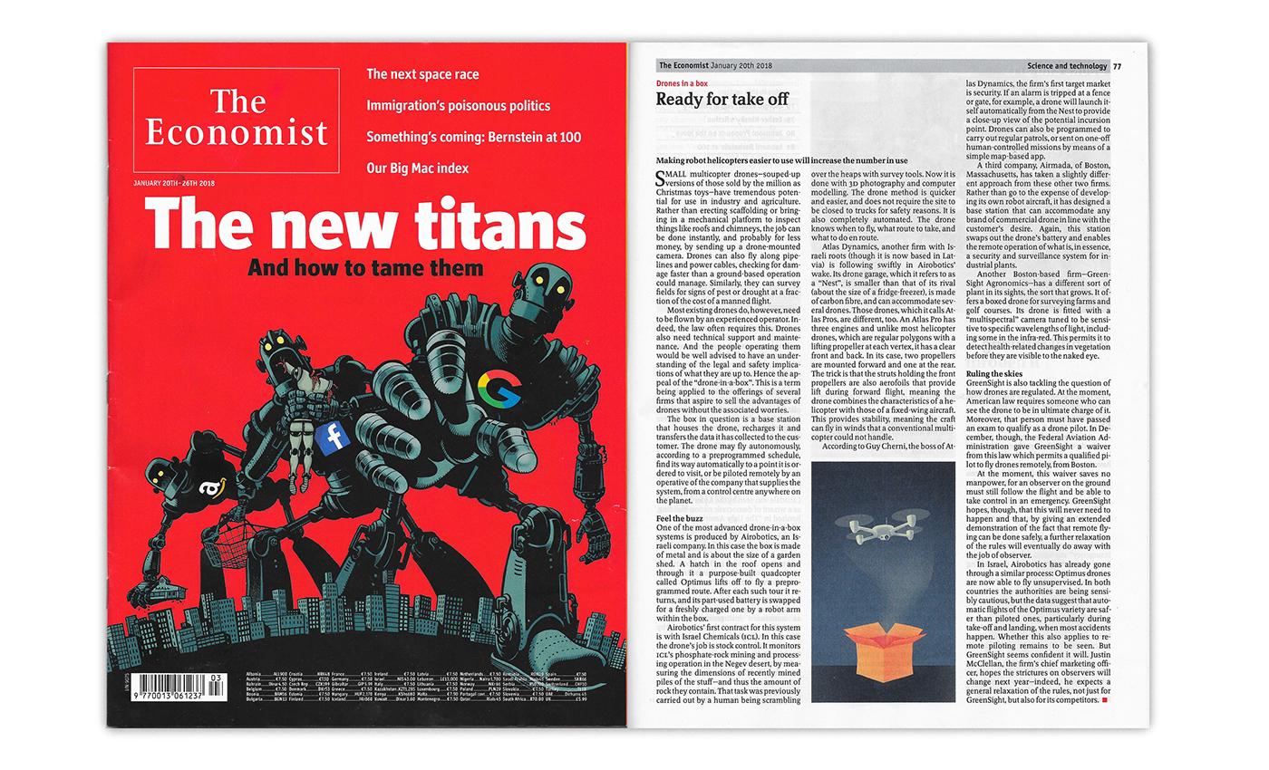 The Economist - vol  2 on Behance
