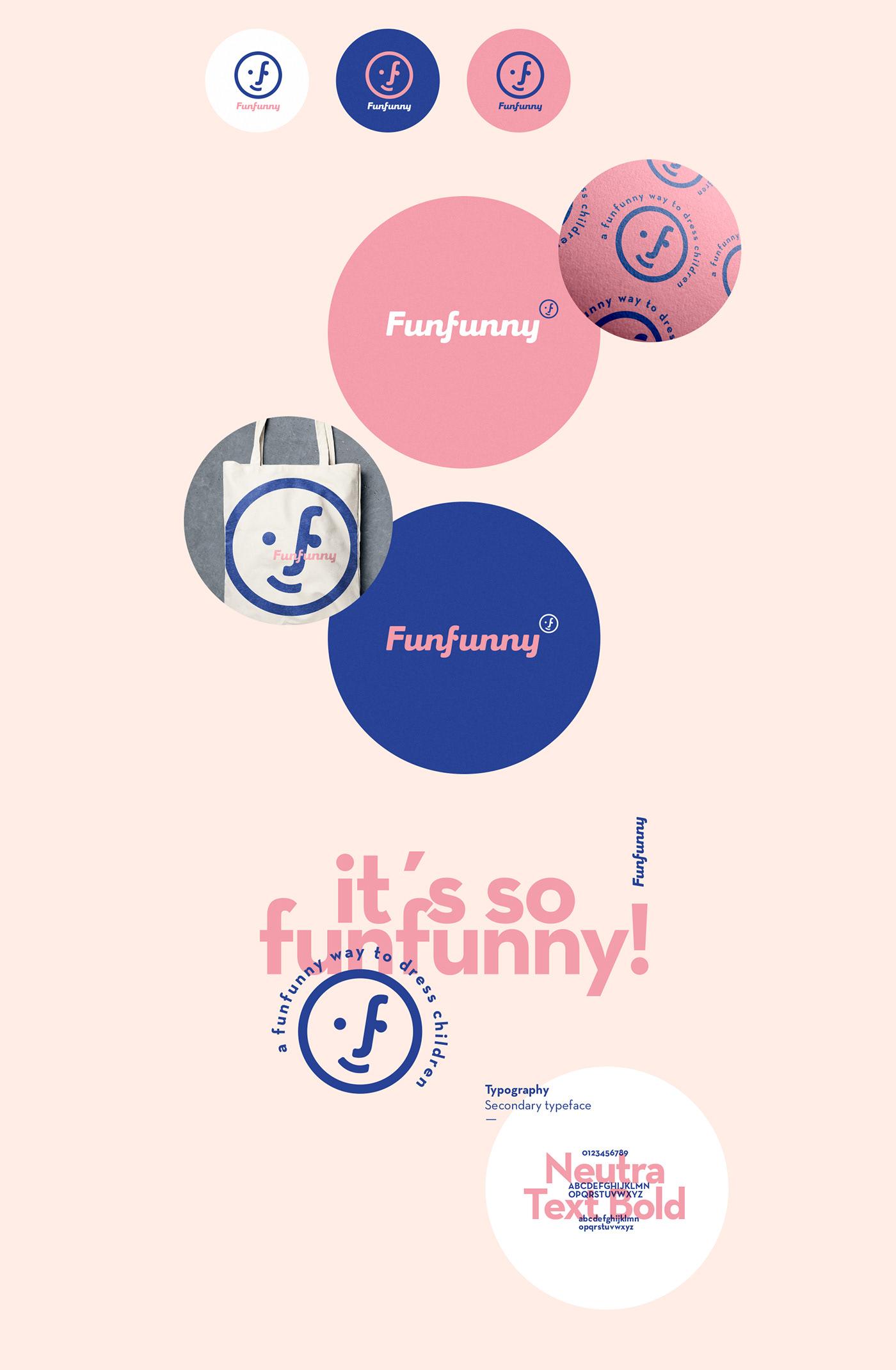 children Fashion  kids Gender brand logo Logotype cute colors marca