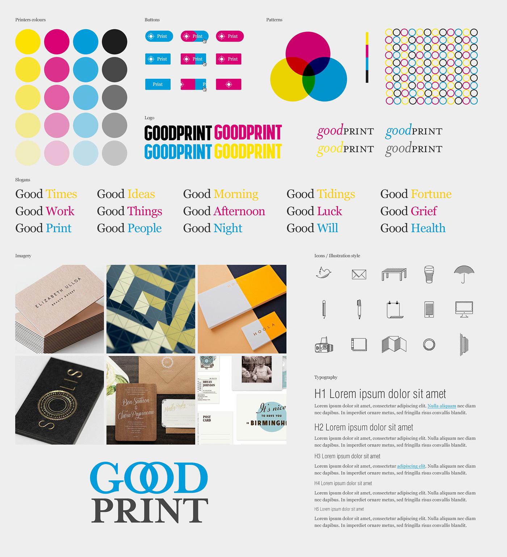 Goodprint Rebrand on Behance