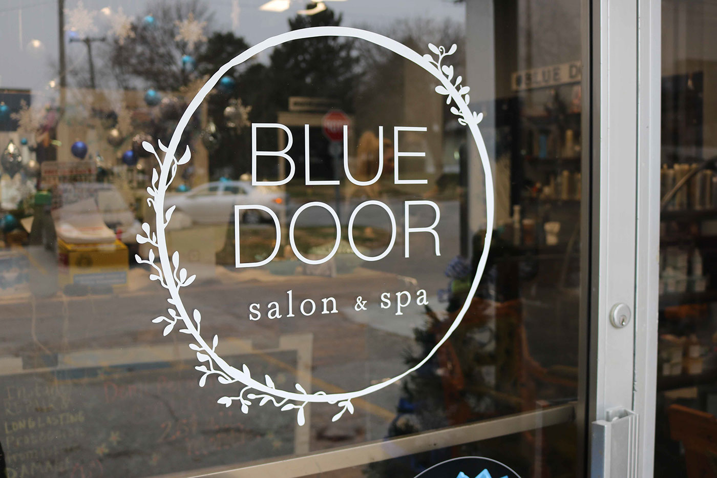 Thank You! & Blue Door Salon u0026 Spa on Behance