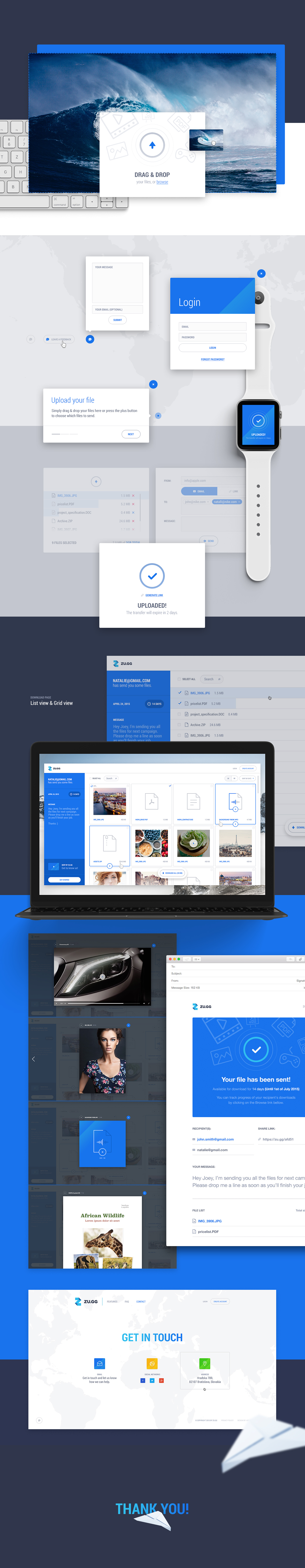 zu gg file sharing on behance