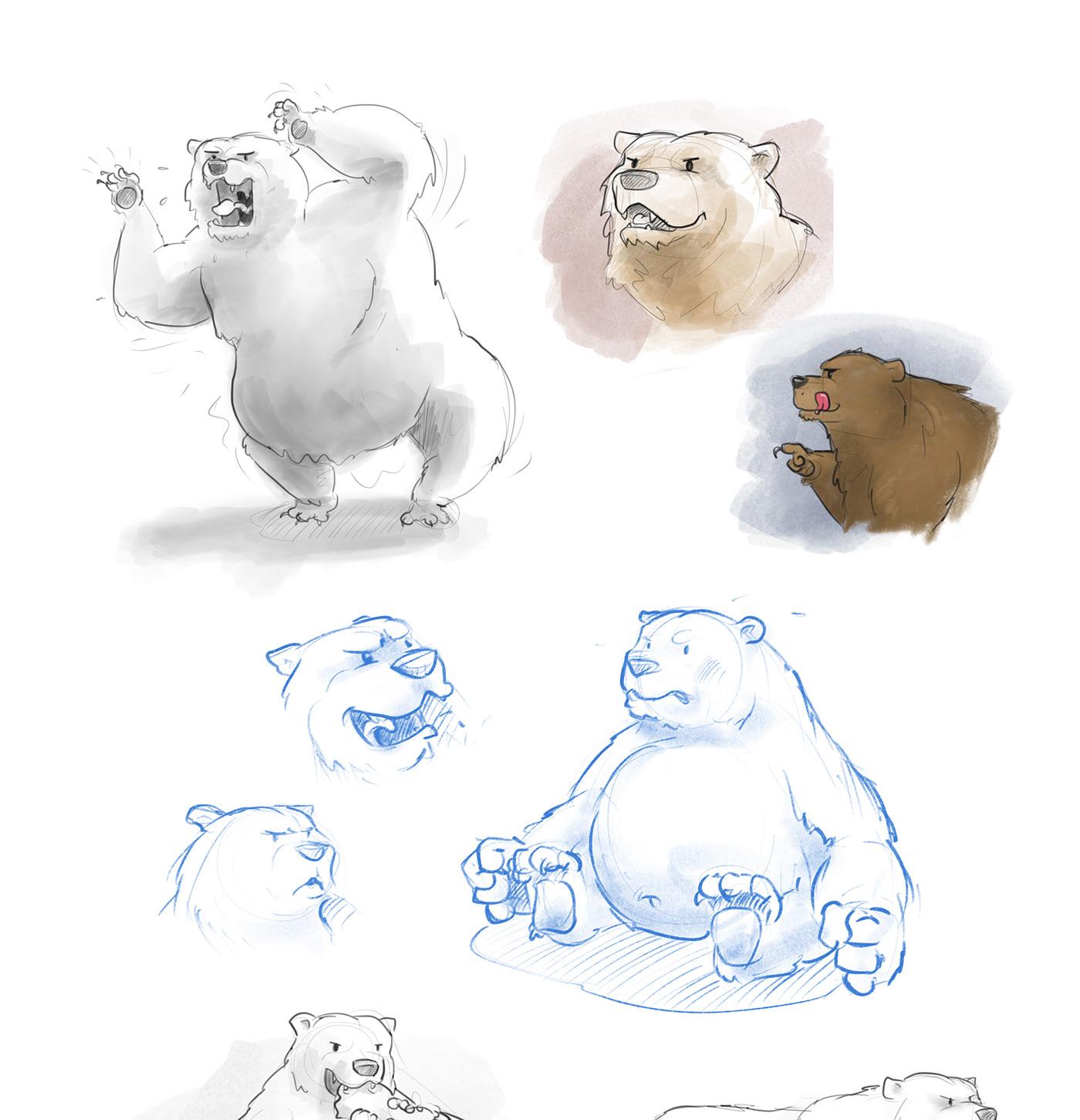doodles animals sketches sketch Procreate